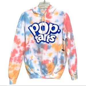 Kellogg's POP TARTS Tie Dye Hoodie Sweatsh…